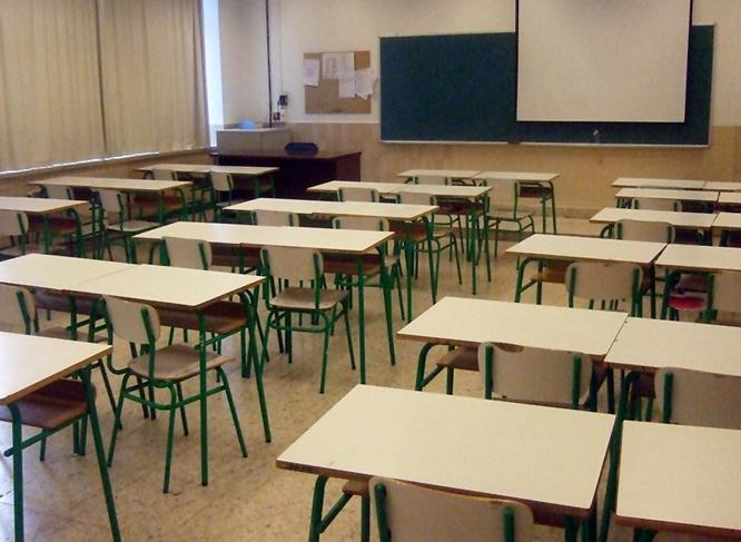 Imagen de un aula educativa