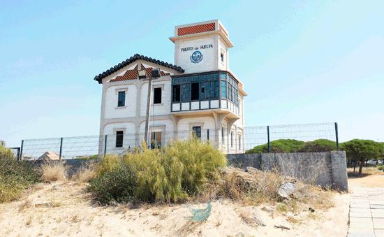 Casa-del-Vigía en Mazagón
