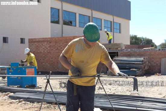 Imagen de un trabajador de la construcción.
