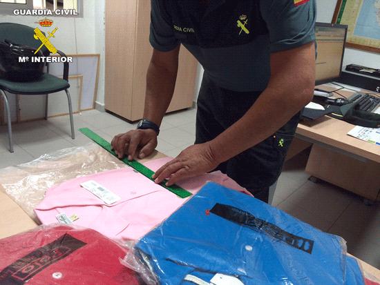 Incautación de objetos por posible delito contra la propiedad-industrial