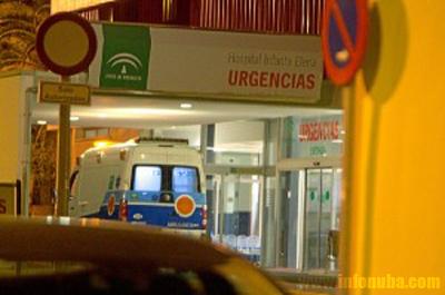 Imagen de la puerta de Urgencias del Hospital Infanta-Elena.