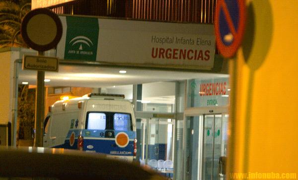 Una imagen del servicio de urgencias del Hospital Infanta Elena en Huelva
