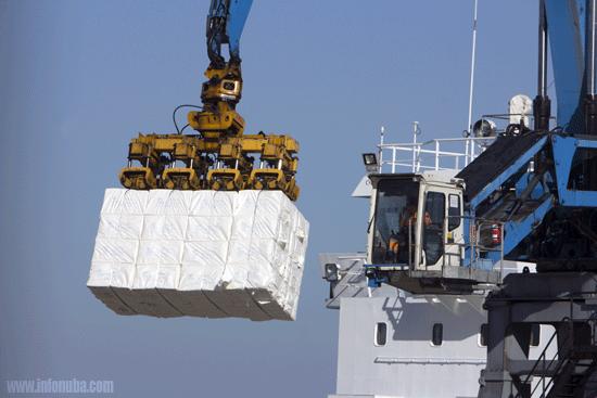 Exportaciones en el Puerto de Huelva