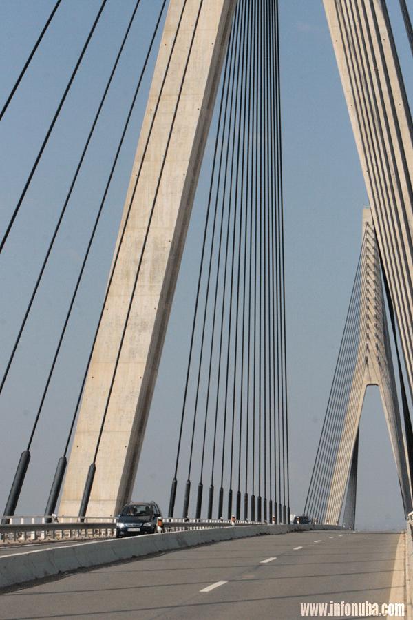 Una imagen del Puente de Ayamonte