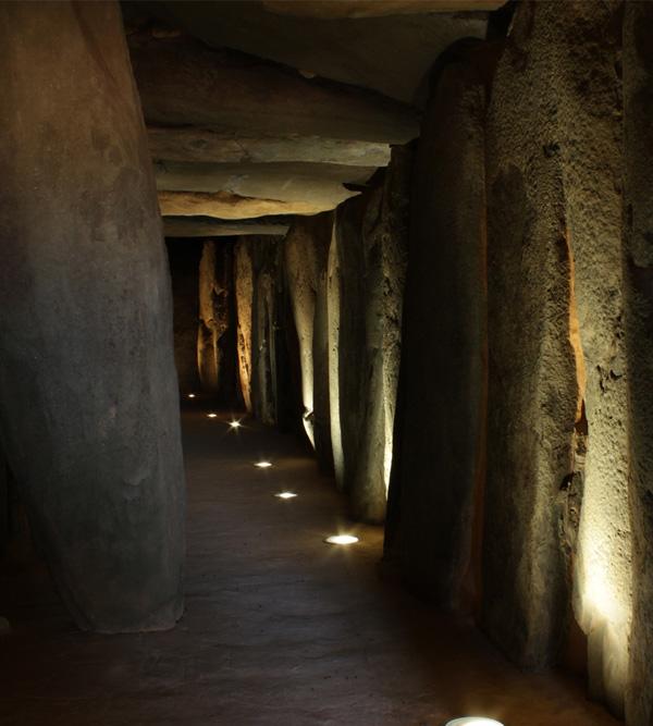 Imagen del Dolmen de Soto en la localidad onubense de Trigueros