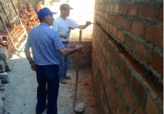 Unas de las obras enmarcadas en el obras del Plan PROFEA