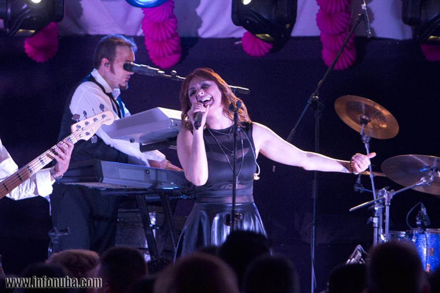 Una imagen de la cantante Merche en un concierto el pasado verano.
