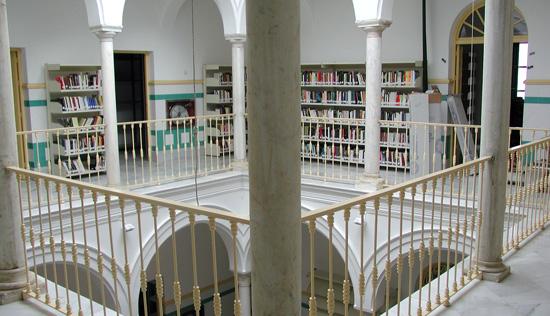 Imagen de la biblioteca Zenobia Juan Ramón Jiménez.