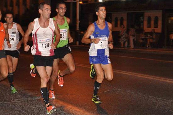 Una imagen de la Carrera Nocturna Huelva en su anterior edición