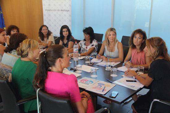 Reunión de las representantes de las ocho Diputaciones andaluzas
