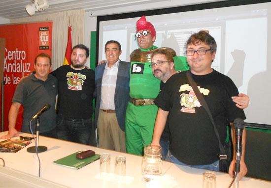 La Biblioteca Provincial de Huelva ha acogido la presentación del tercer número de las aventuras de Biblos, superhéroe de biblioteca.