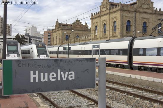 Imagen de la estación de Huelva.