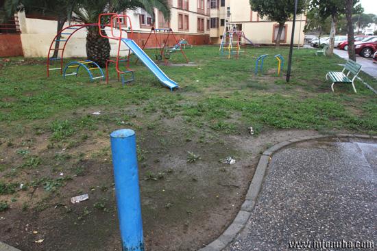 Vista General del parque infantil.
