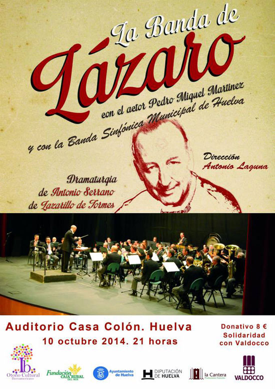 """Cartel del espéctaculo """"La Banda de Lázaro"""""""