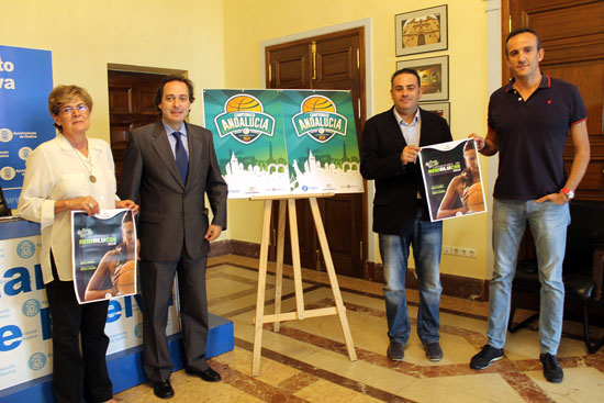 Presentación en la mañana de hoy del Campeonato Andaluz de Selecciones Provinciales de Baloncento Femenino.