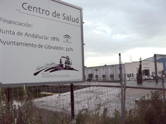 Terrenos donde debe construirse el Centro de Salud.