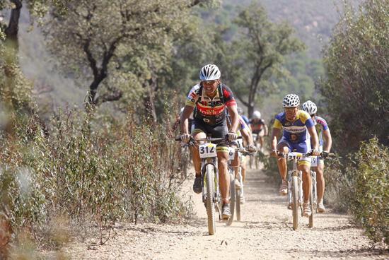 Los parajes entorno al Tinto acogerán la Ruta Cicloturista en BTT Nacimiento del Río Tinto.
