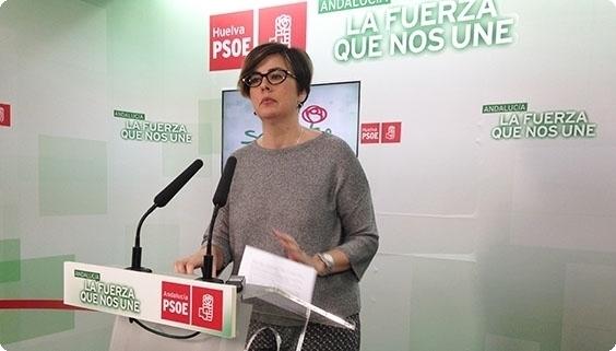 María José Rodríguez en rueda de prensa.