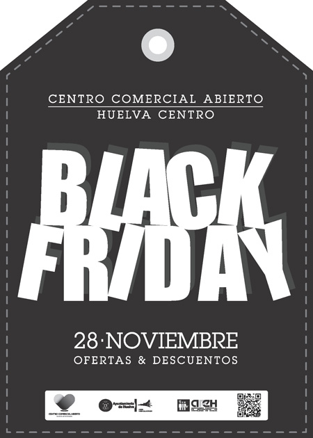 "Cartel de la promoción comercial ""Black Friday""."