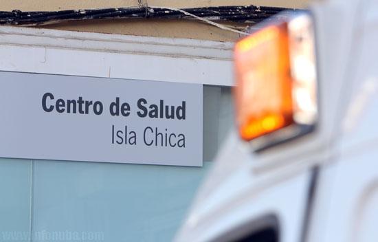 Imagen del actual centro de salud de Isla Chica.