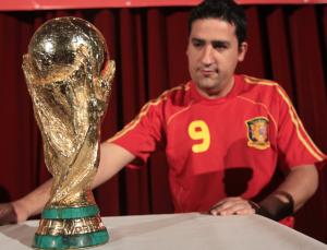 Exposición de la Copa del Mundo en Minas de Riotinto