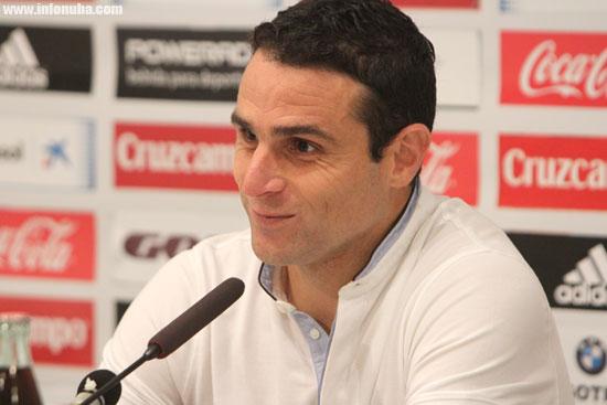 Antonio Nuñez en rueda de prensa.