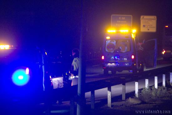 Un accidente en el que actuaron los servicios del 061 el pasado mes.