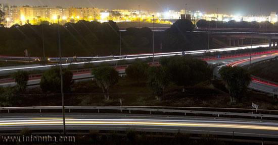 Imagen nocturna de H-30.