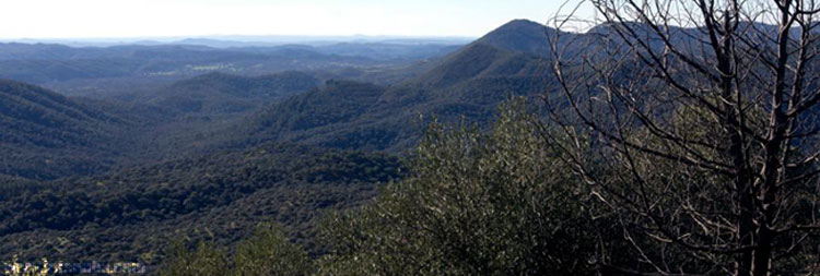 Imagen de la Sierra de Huelva.