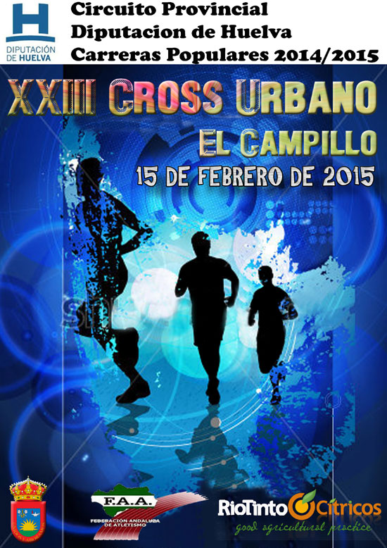 Cartel del Cross Urbano de El Campillo 2015