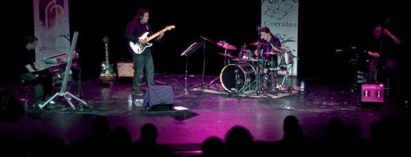 Imagen de una actuación de Banda Kastaña.