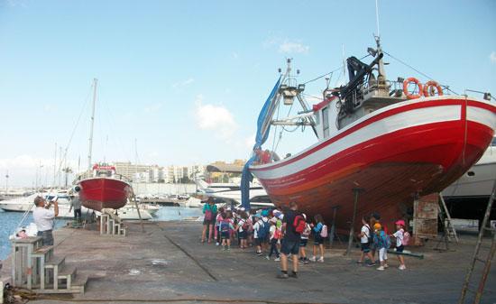 Un total de 641 alumnos de Primaria y Secundaria de colegios andaluces han participado durante los dos primeros trimestres del presente curso escolar en la campaña de difusión de puertos autonómicos.