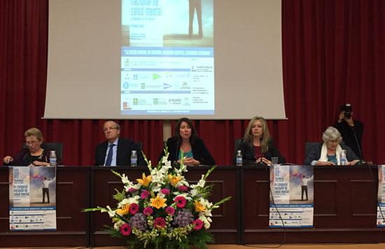 La diputada de Bienestar Social, Rocío Cárdenas, ha abogado por la eliminación del rechazo y la discriminación a los enfermos mentales, en la inauguración del III Congreso Nacional de Salud Mental y XII Jornadas Feafes Huelva.
