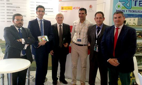 Una delegación de cuatro empresas andaluzas de la industria auxiliar de la agricultura participará, del 28 de abril al 3 de mayo, en la décima edición del Salón Internacional de la Agricultura de Marruecos.