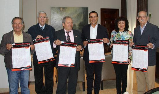 """La Diputación ha renovado su colaboración con la Federación Onubense de Peñas Flamencas """"El Fandango"""" ."""