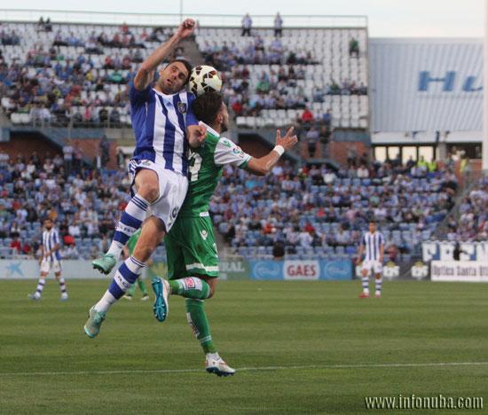 Imagen de un encuentro entre el Recreativo de Huelva y el Real Betis