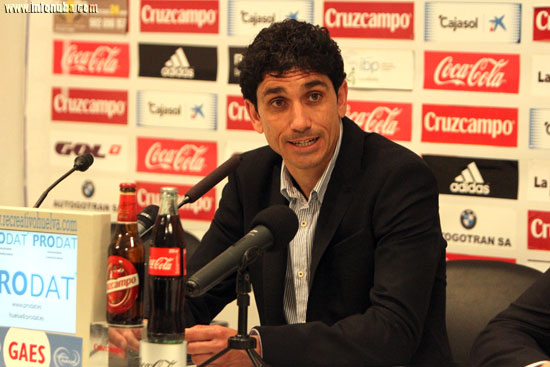 Juan Manuel Pavón en rueda de prensa.