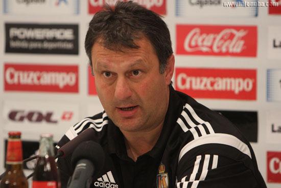 José Manuel Díaz Fernández en rueda de prensa.