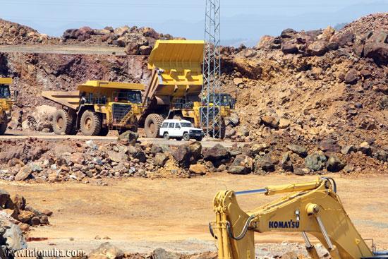 Imagen de las minas de Riotinto.