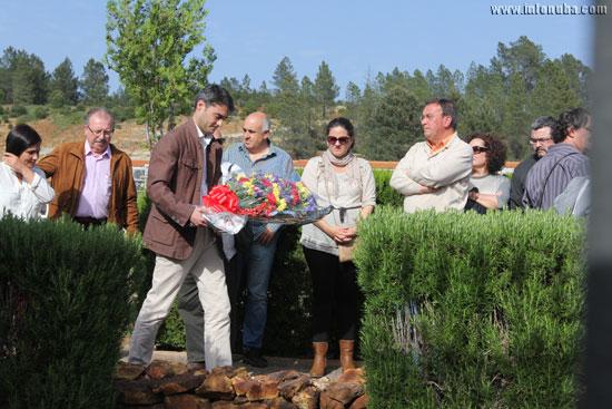 Javier Giráldez Díaz, asistió ayer en Nerva, a los actos que se han celebrado con motivo de la conmemoración del 84 aniversario de la II República española.