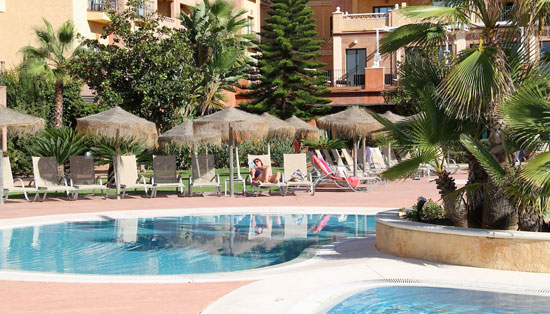 Imagen de un Hotel en la provincia de Huelva.