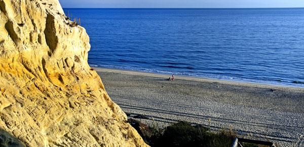 Imagen de la Playa del Parador en Mazagón.