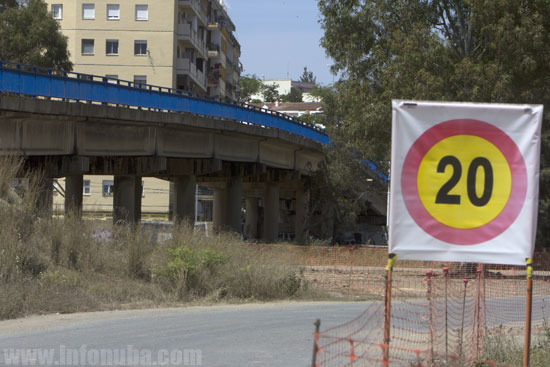 Estado actual de la avenida de Cádiz