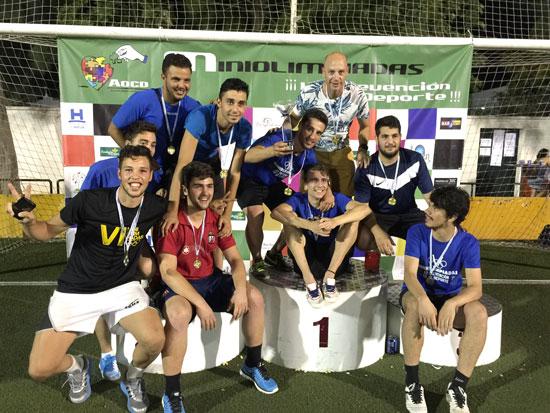 Los campeones del Torneo del Fútbol 7