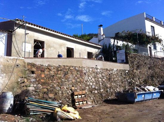 Imagen de la Casa Cuartel de Puerto La Laja.