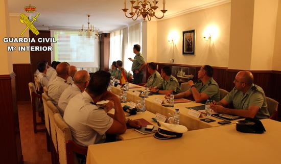 Reunión de Coordinación entre la Guardia Civil y el GNR.