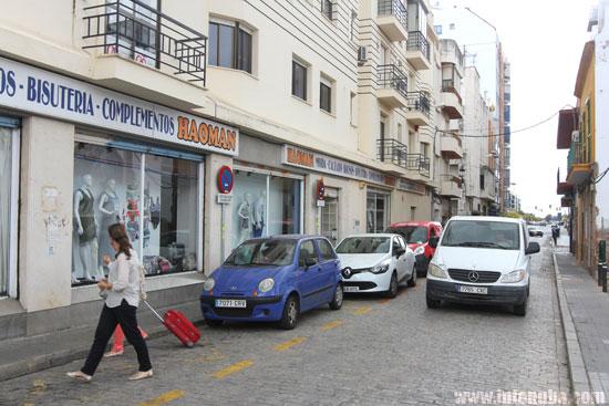 Calle Duque de la Victoria de Huelva