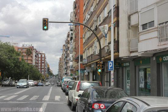 Imagen de la Avenida Federico Molina