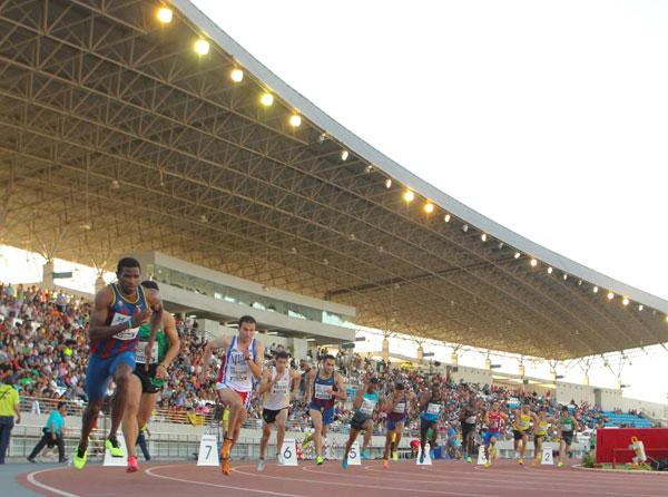El Estadio Iberoamericano de Atletismo está preparado ya para acoger el próximo miércoles, día 10 de junio, el XI Meeting Iberoamericano, organizado por la RFEA y la Diputación de Huelva