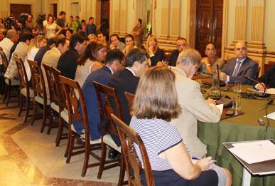 Imagen de archivo de una sesión plenaria.